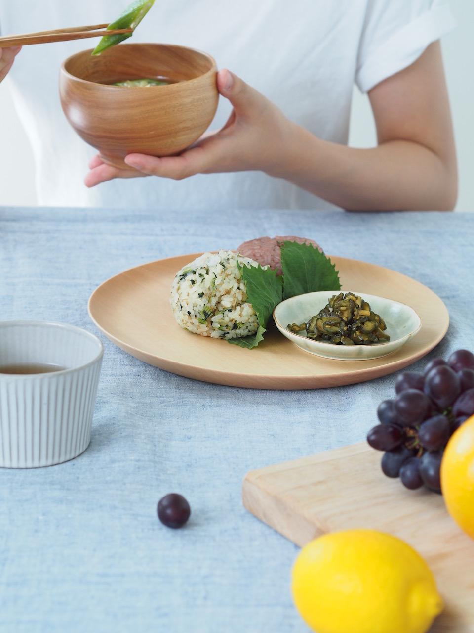 おしゃれな和食の朝ごはん